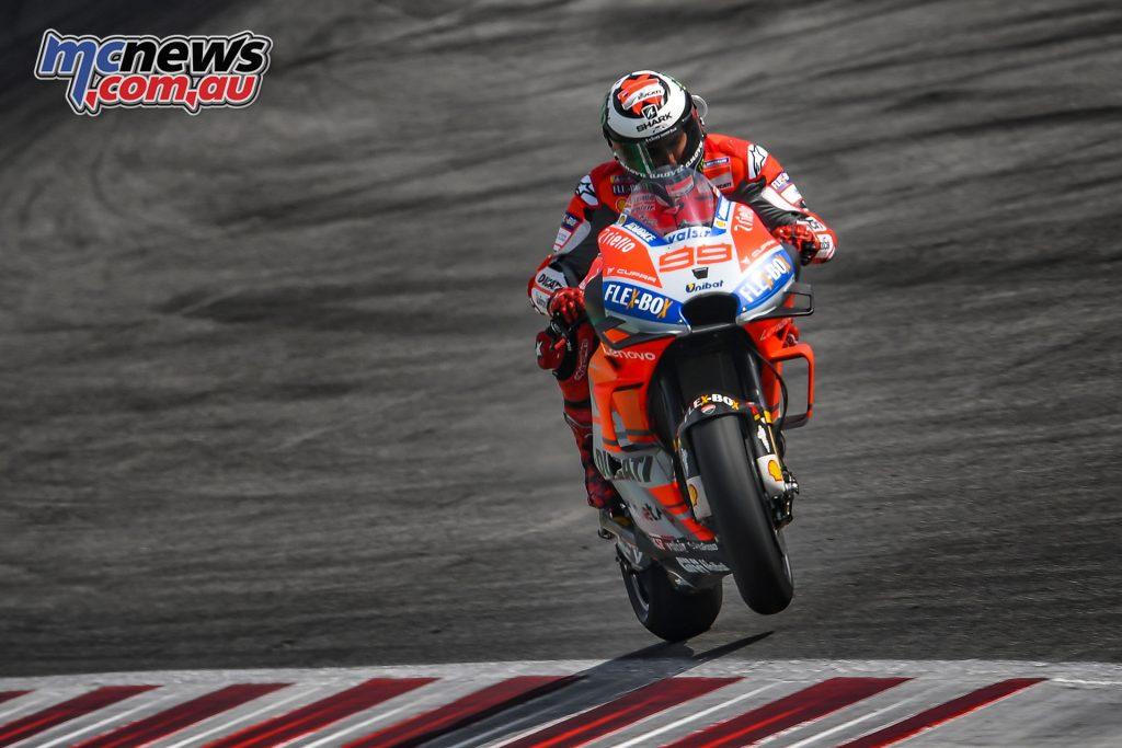 MotoGP Rnd Misano Day Lorenzo