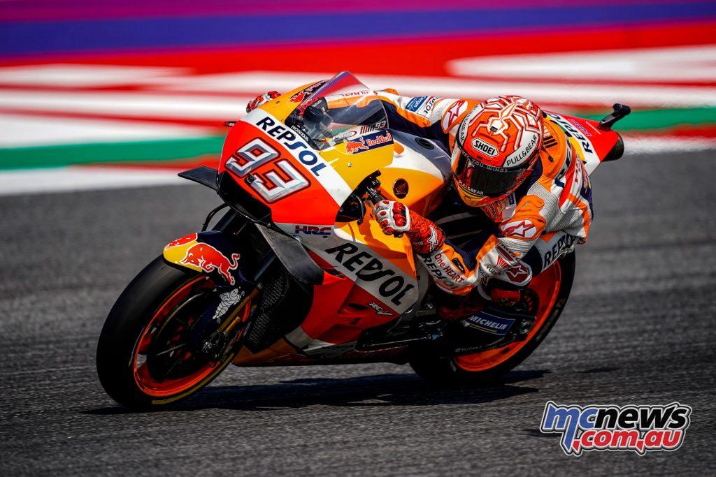 MotoGP Rnd Misano Day Marc Marquez