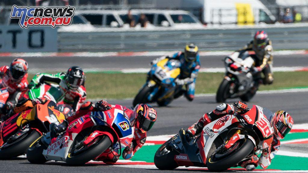 MotoGP Rnd Misano Takaaki Nakagami