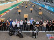 MotoGP Triumph Moto engine handover