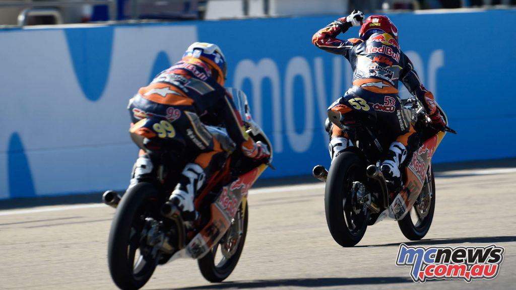 Red Bull Rookies MotoGP Cup Aragon Rnd Deniz Oncu