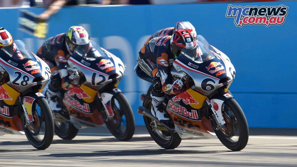 Red Bull Rookies MotoGP Cup Aragon Rnd Ryusei Yamanaka