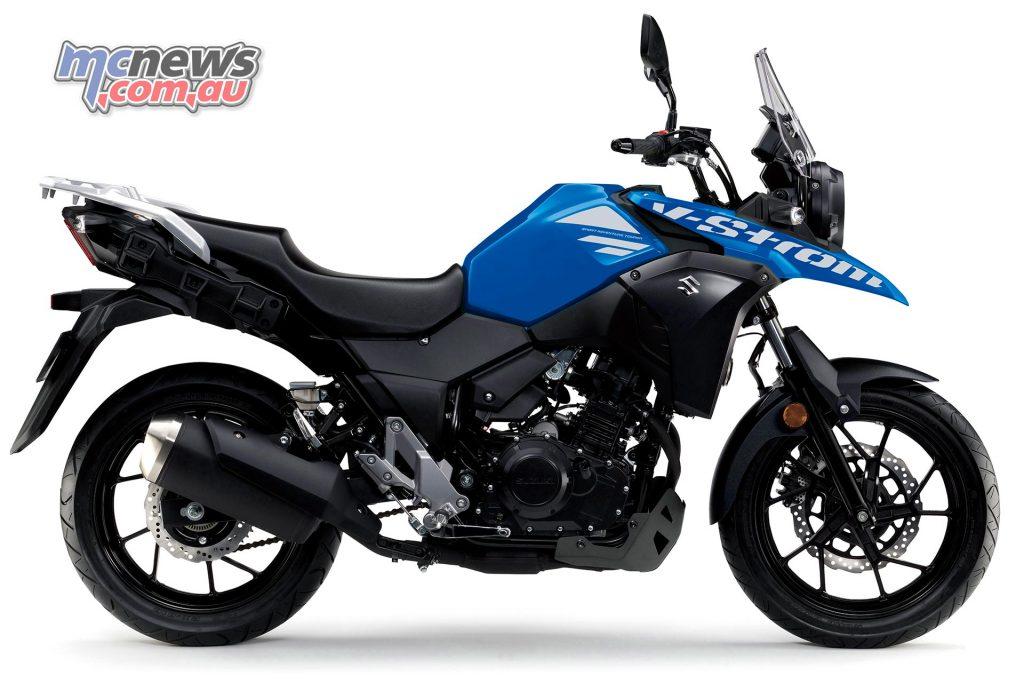 Suzuki DL V Strom RHS Blue