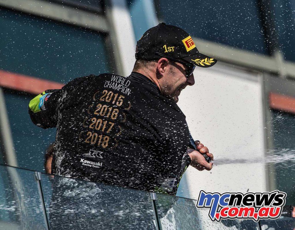 WSBK Champion Jonathan Rea