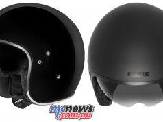 dririder highway black Mattblack helmet