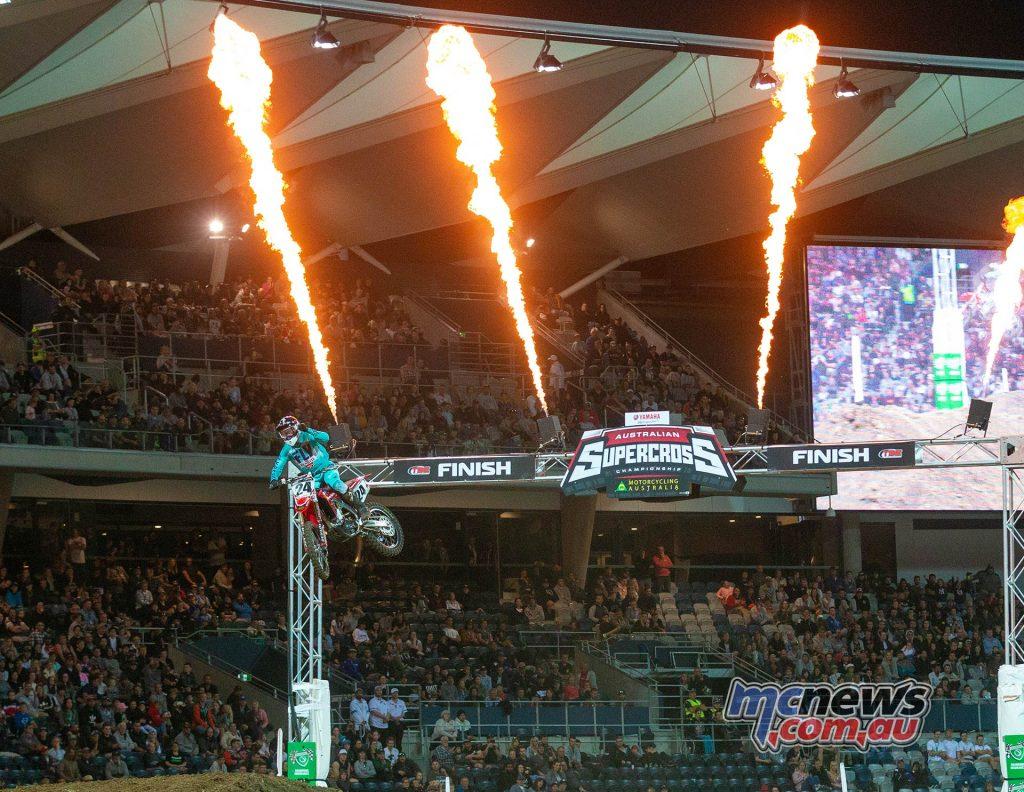 Australian Supercross Geeling TBG Metcalfe