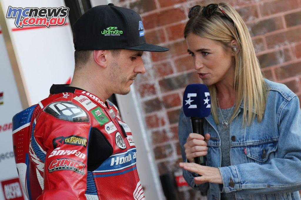 BSB Final Brands Sun Jason OHalloran Eurosport interview