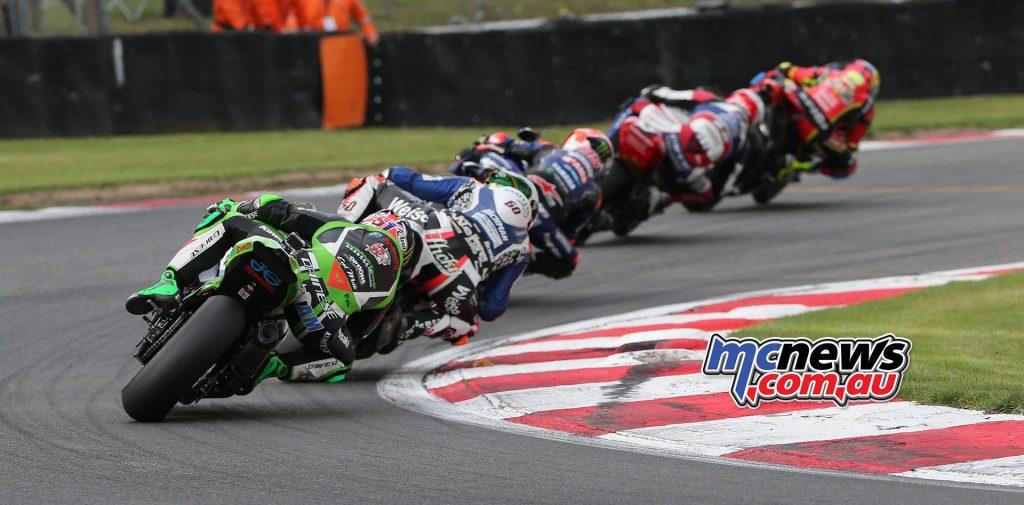 BSB Final Brands Superbike Start