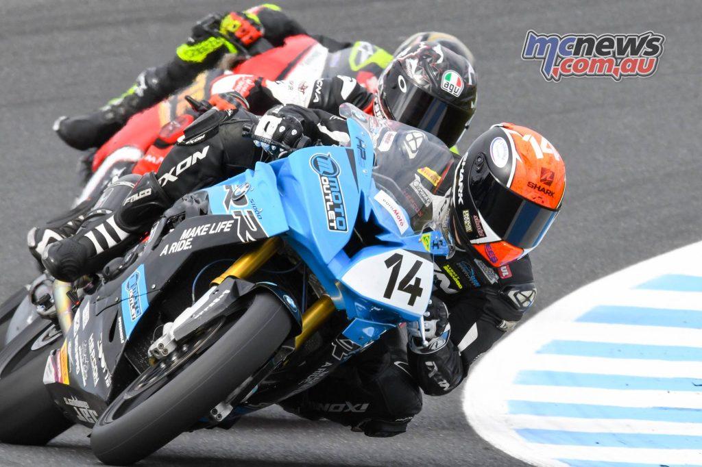 MotoGP ASBK CRw Allerton Bayliss Herfoss
