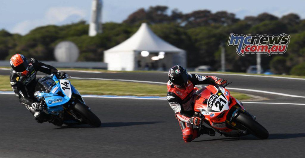 MotoGP Australia CRw ASBK R Bayliss Allerton