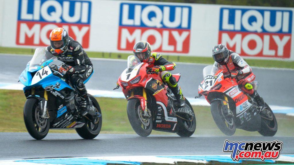 MotoGP Australia CRw ASBK R Allerton Herfoss Bayliss