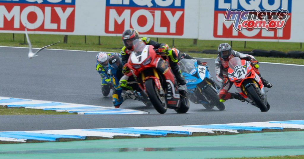 MotoGP Australia CRw ASBK R Herfoss Bayliss Allerton