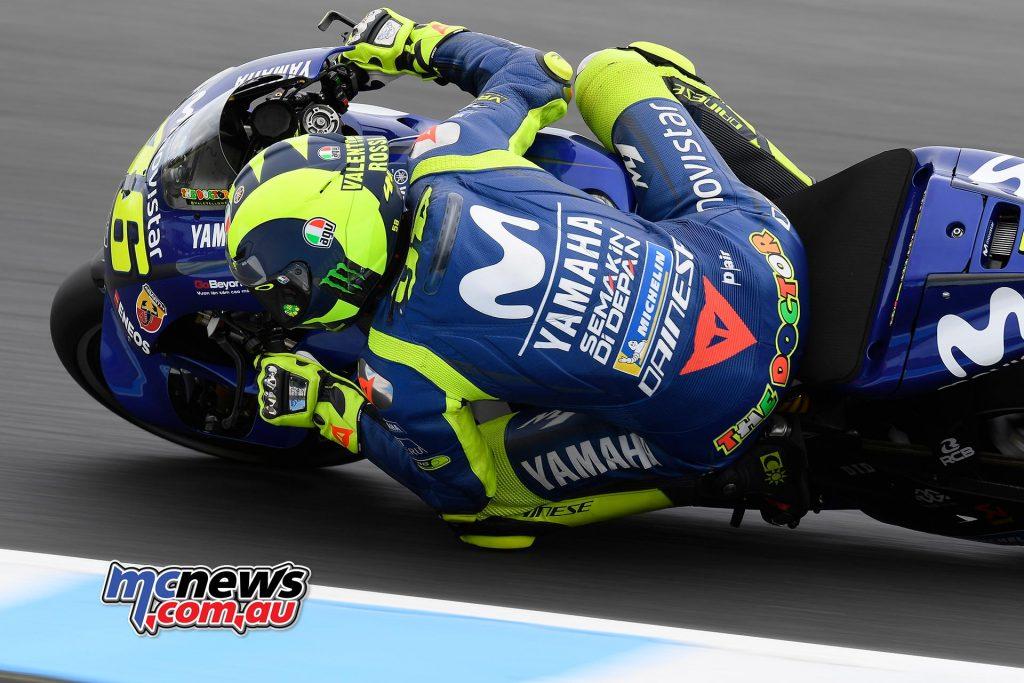 MotoGP Australia QP Rossi