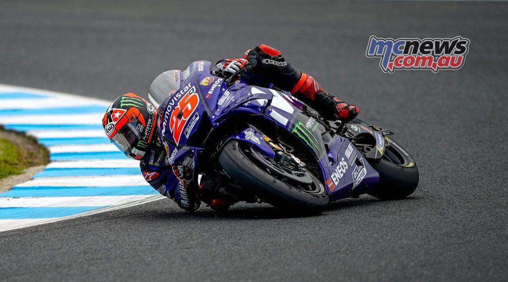 MotoGP Australia QP Vinales