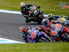 MotoGP Australia QP Vinales Dovi