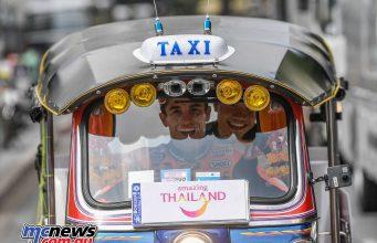 MotoGP Rnd Thailand Pre Marquez TukTuk