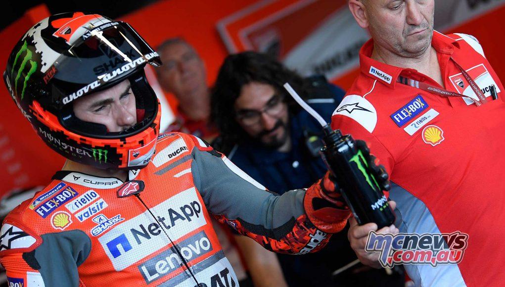 MotoGP Thailand Fri Lorenzo