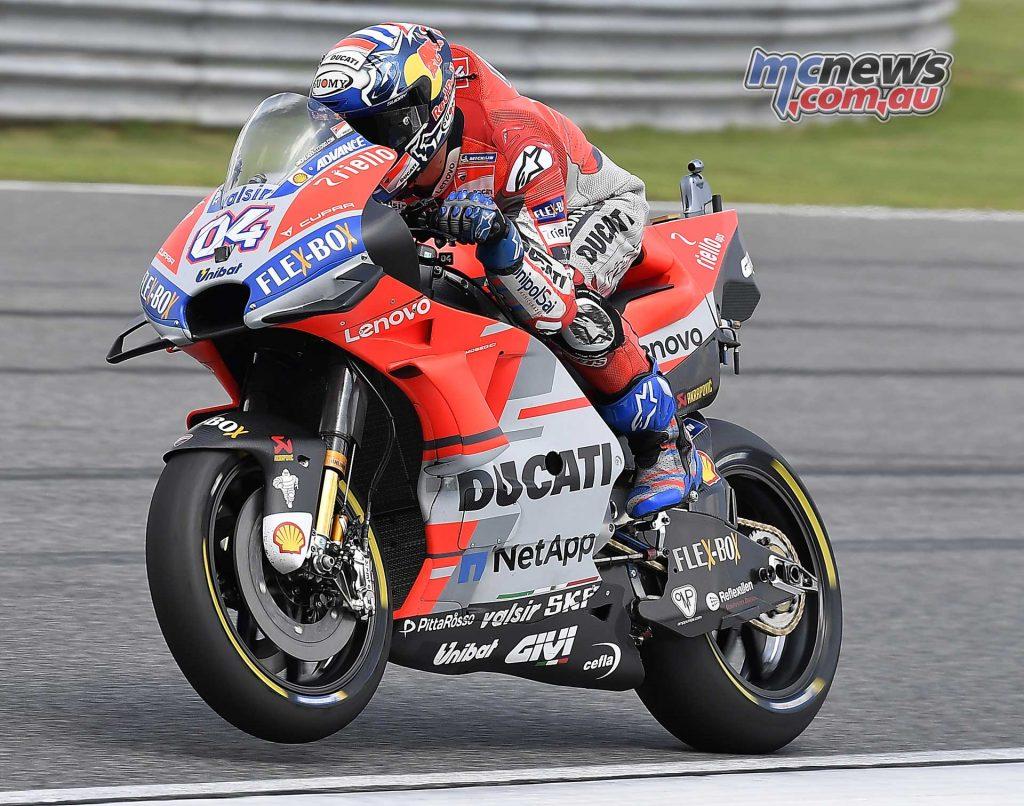 MotoGP Thailand QP Andrea Dovizioso