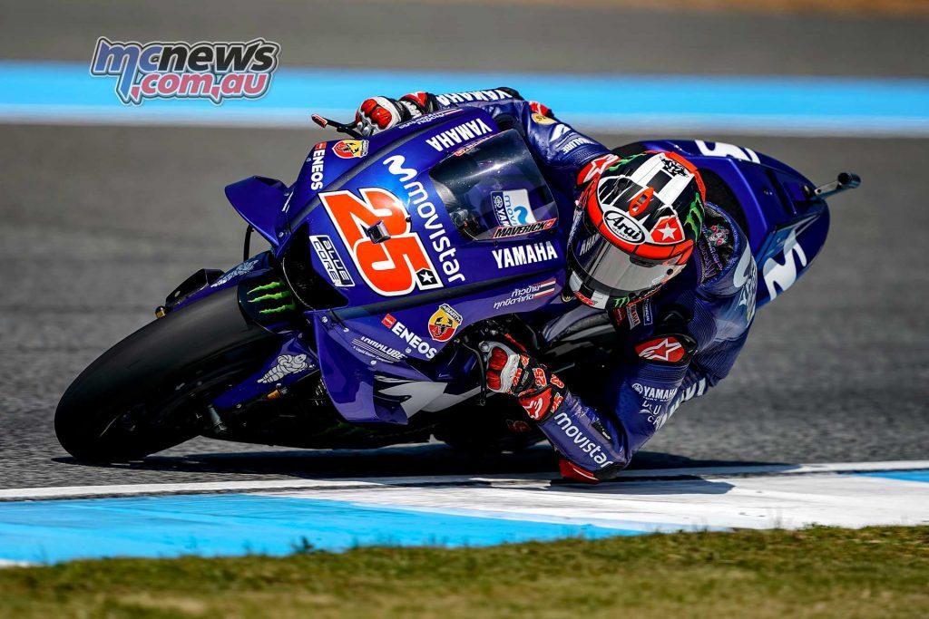 MotoGP Thailand QP Maverick Vinales