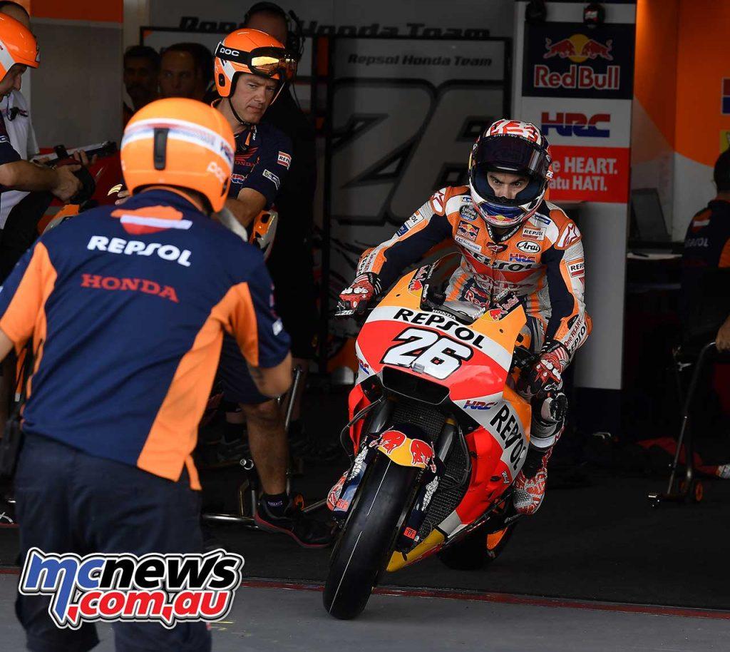 MotoGP Thailand QP Pedrosa