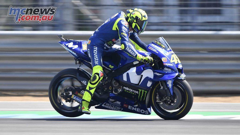 MotoGP Thailand QP Valentino Rossi Brembo