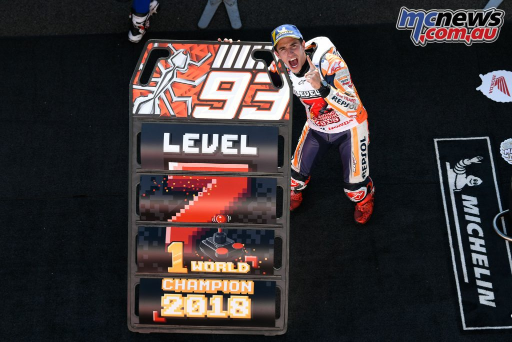 MotoGP World Champion Marc Marquez