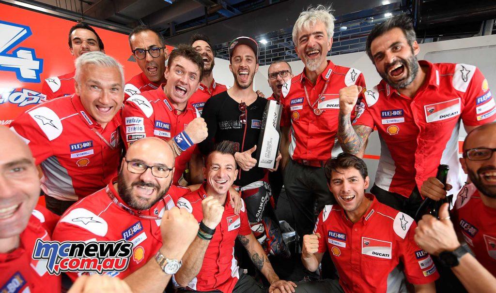 MotogGP Rnd Thailand Dovizioso Ducati