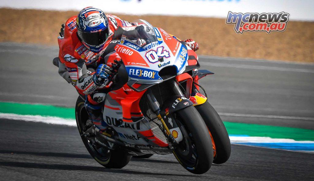 MotogGP Rnd Thailand Dovizioso Marquez