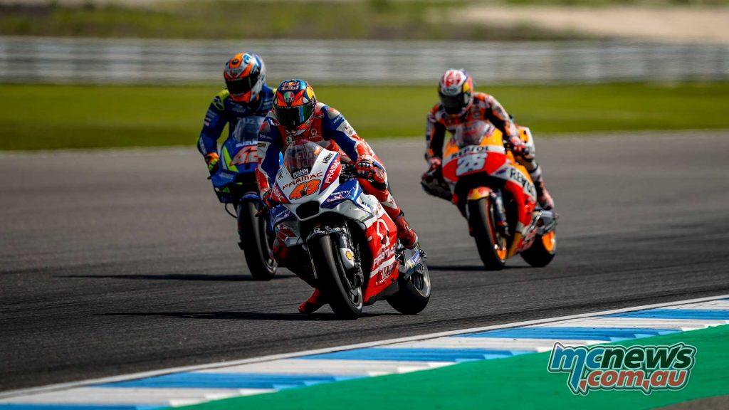 MotogGP Rnd Thailand Miller Rins Pedrosa