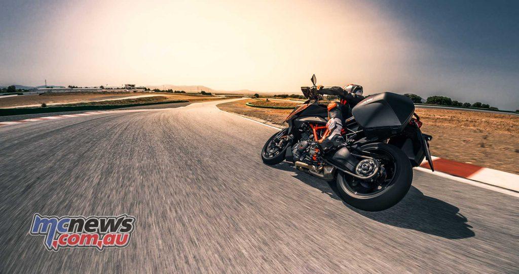 KTM Super Duke GT Action