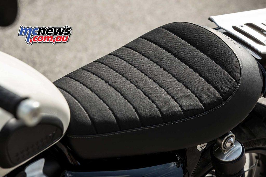 Triumph Street Scrambler Seat