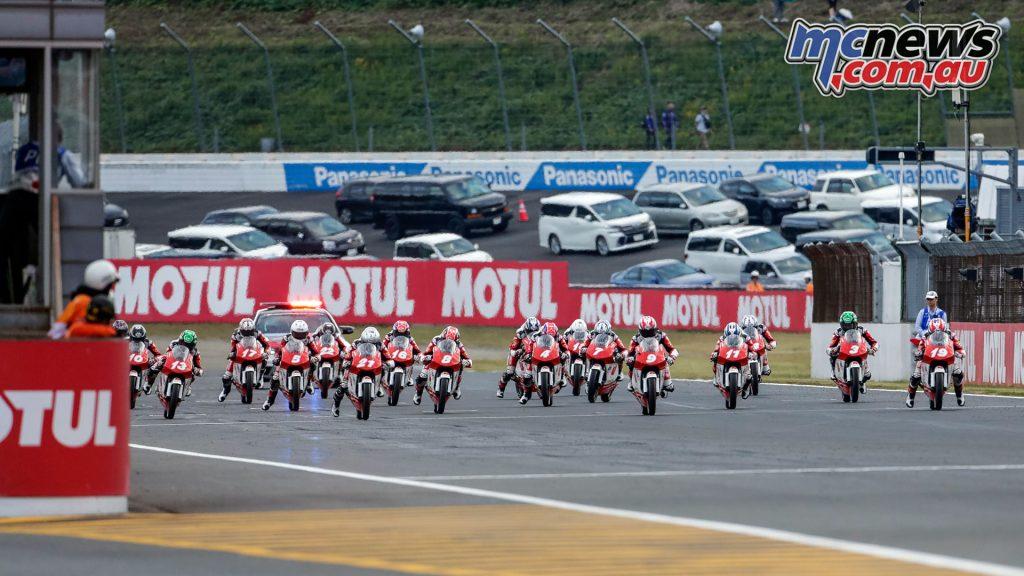 Asia Talent Cup Motegi R Race Start ZA