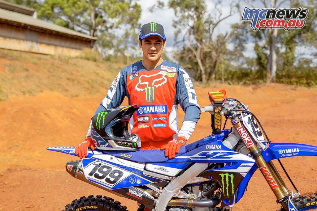 Australian SX Nathan Crawford YZF