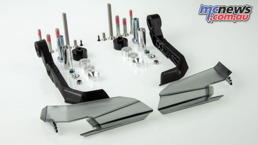 Barkbusters AERO GP AGP components