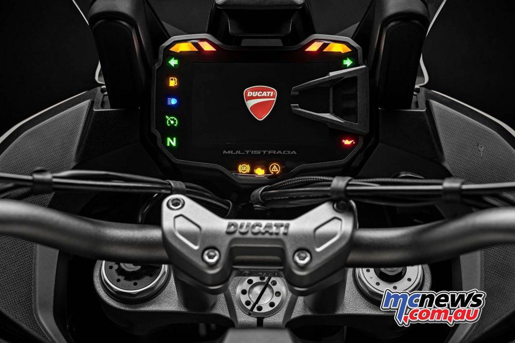 Ducati Multistrada Enduro Dash