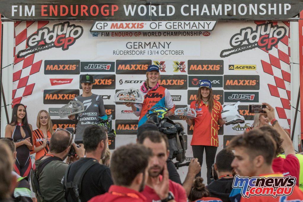 EnduroGP Germany Womens Podium A