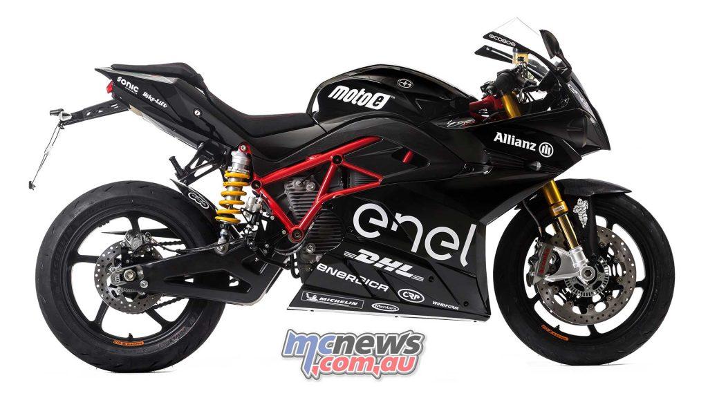 Energica Ego Sport Black