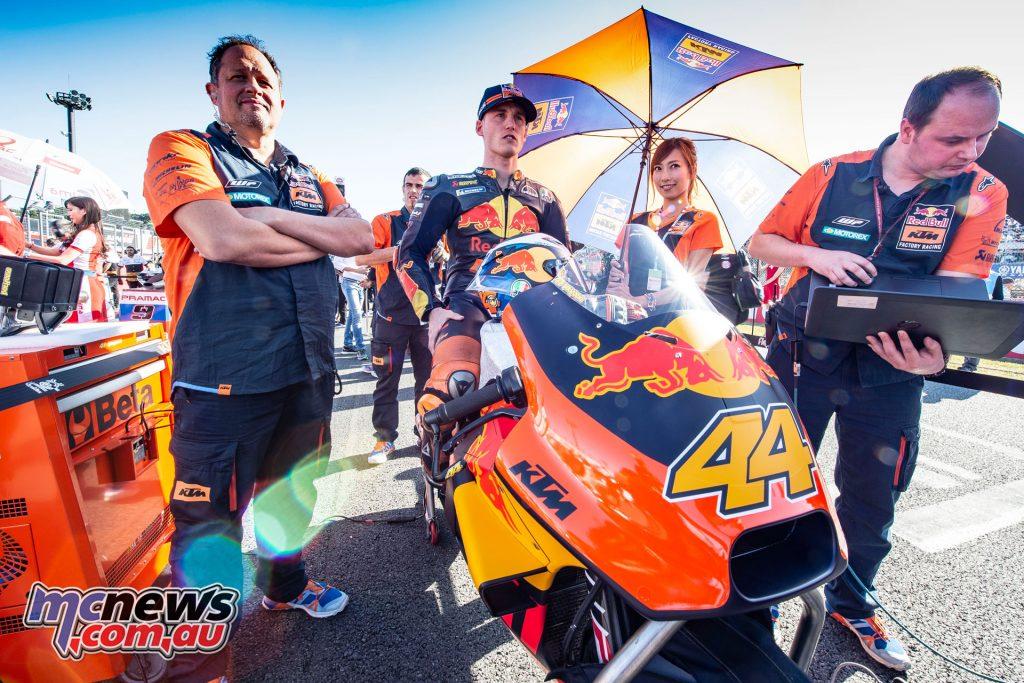 MotoGP Japan Motegi Sun Pol Espargaro Staff