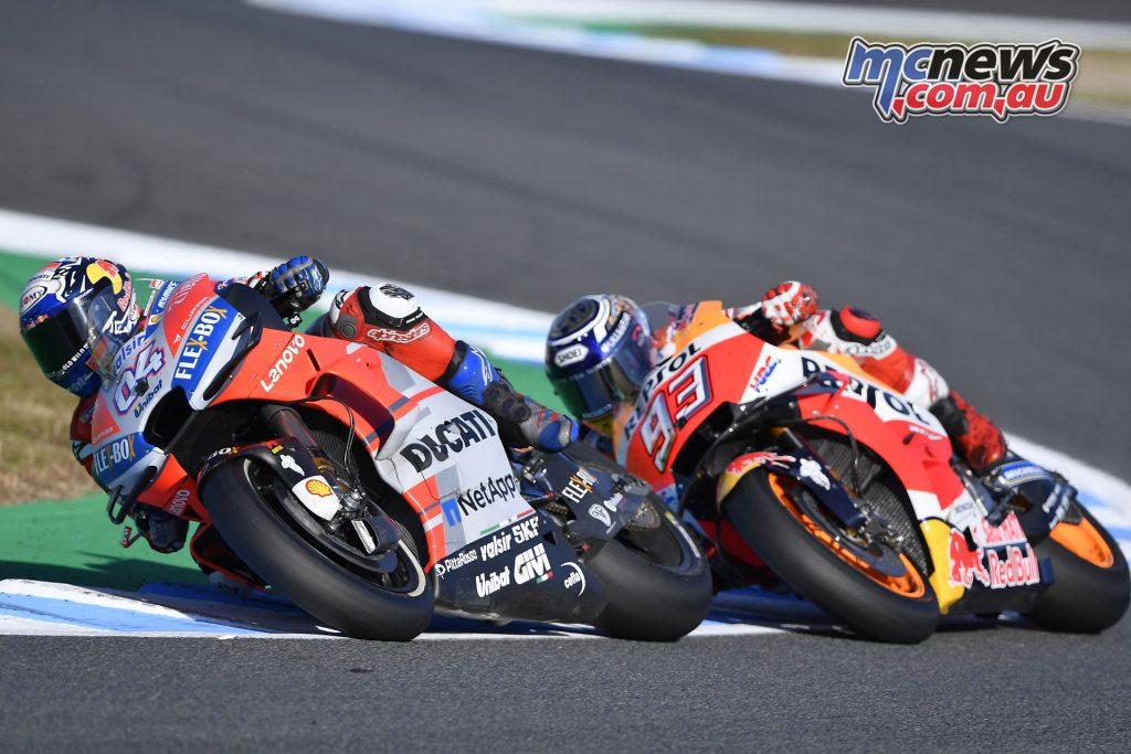 MotoGP Japan Sun Dovizioso