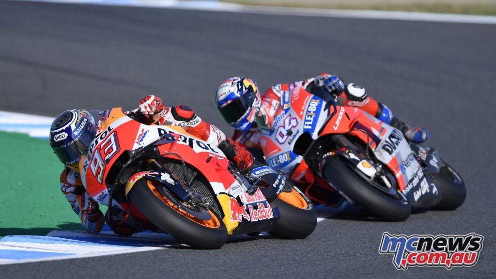 MotoGP Japan Sun Marquez Dovizioso