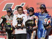 MotoGP Japan Sun Podium