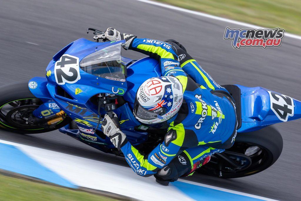 MotoGP TBG Rnd Phillip Island Max Croker TBG