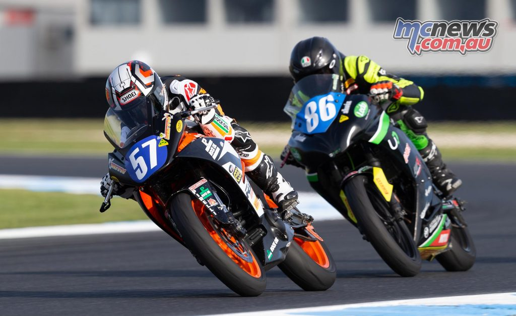 MotoGP TBG Rnd Phillip Island Seth Crump TBG