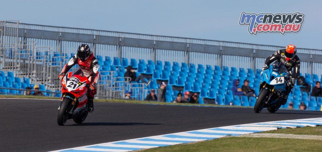 MotoGP TBG Rnd Phillip Island Troy Bayliss Glenn Allerton TBG