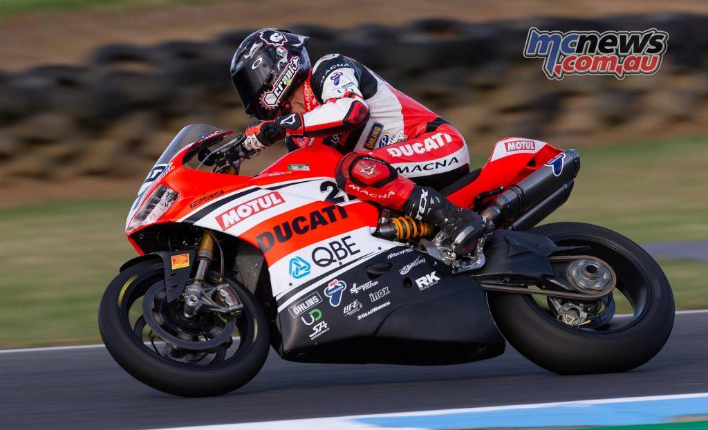 MotoGP TBG Rnd Phillip Island Troy Bayliss TBG