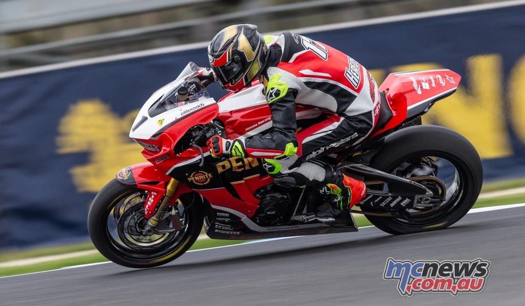 MotoGP TBG Rnd Phillip Island Troy Herfoss TBG