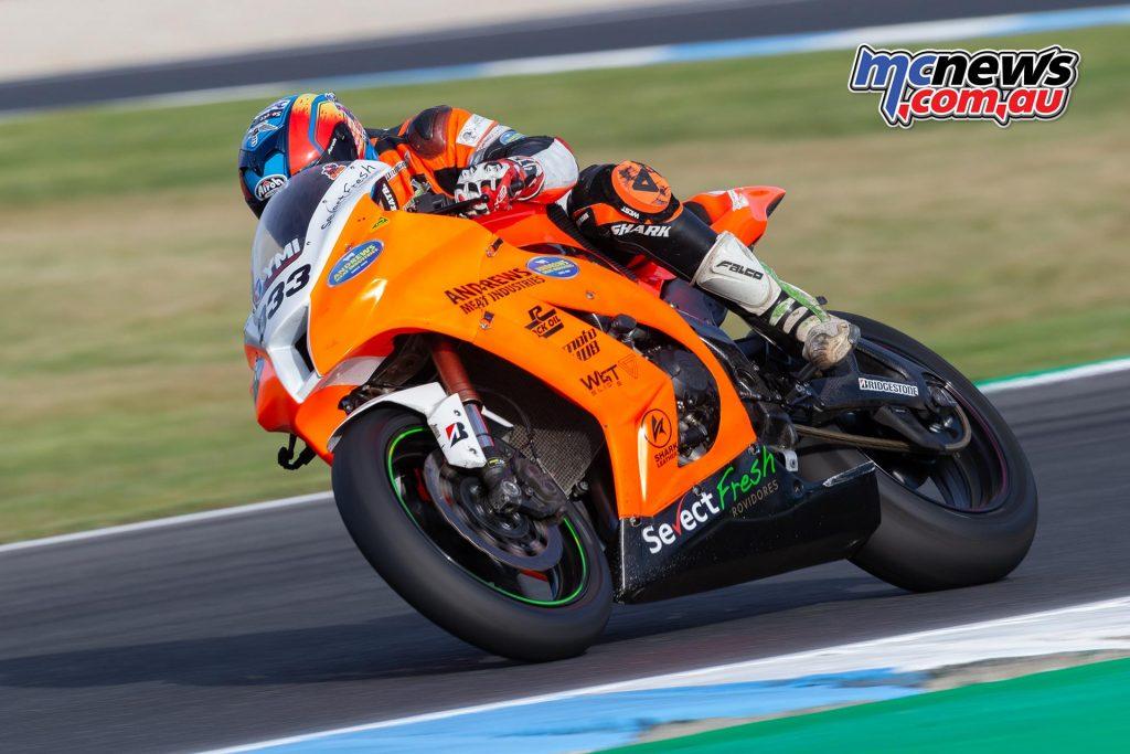 MotoGP TBG Rnd Phillip Island Yanni Shaw TBG