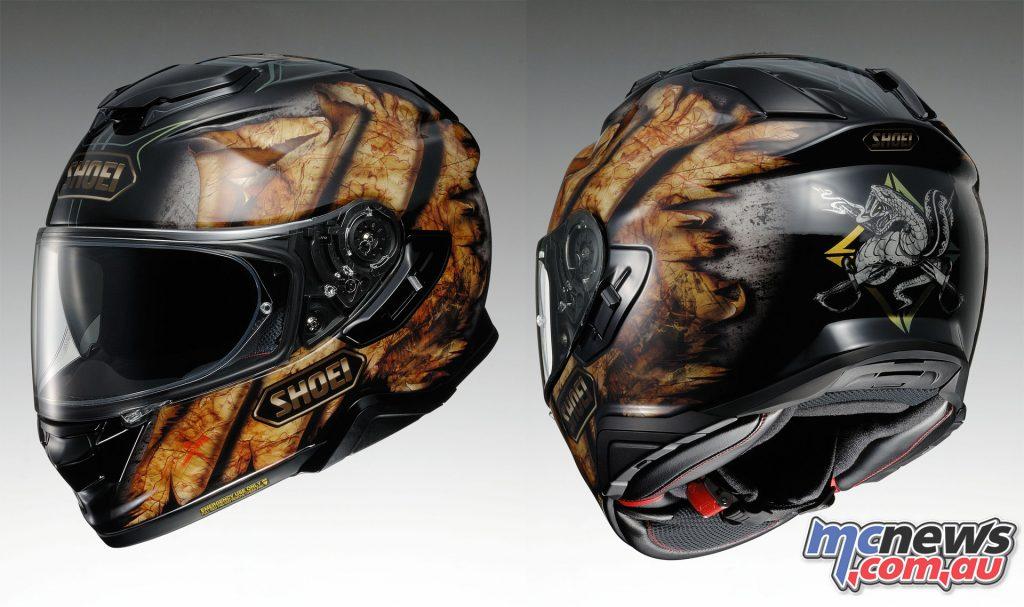 Shoei GT Air II Sena Ready Helmet DEVIATION TC