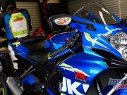 Suzuki Track Day Experience Gilesy