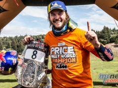Toby Price World Champion Cross Country Rallies